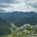 Cheile Bicazului: punctul de belvedere de pe Suhardul Mic