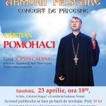 """CRISTIAN POMOHACI INVITAT AL """"ARMONIILOR PASCALE"""" 2016"""
