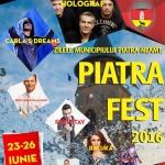Zilele Municipiului Piatra-Neamț: Piatra FEST 2016