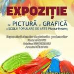 """Centrul pentru Cultură şi Arte """"Carmen Saeculare"""" Piatra Neamț – Expoziție de pictură şi grafică, marţi 20 iunie"""