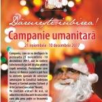 Campania umanitară DĂRUIEȘTE IUBIREA!