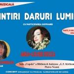 "Biblioteca ""G. T. Kirileanu"" Piatra Neamț – Concert Anda-Louise Bogza"