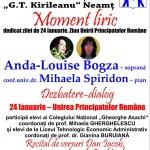"""Manifestări dedicate Unirii Principatelor Române, la Biblioteca Județeană """"G.T. Kirileanu"""""""