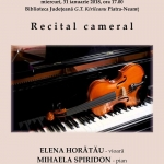 RECITAL MUZICAL – Sonate de Georg Friedrich Händel