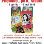 """Parteneriat educațional național """"Prietenie… pe o… sfoară…"""", la Biblioteca Județeană"""