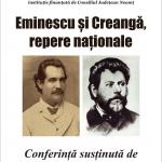 """Conferința """"Mihai Eminescu și Ion Creangă, repere naționale"""" la Biblioteca Județeană"""