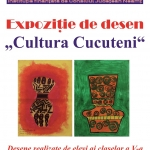 Expoziție de desen inspirată de cultura Cucuteni, perioada 14 – 24 august 2018