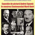 Expoziție de pictură dedicată Centenarului și lansare de carte, la Biblioteca Județeană