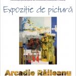 Expoziție de pictură Arcadie Răileanu, la Biblioteca Județeană