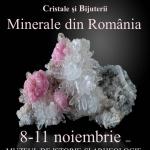 Expoziţia Mineralia, 8-11 noiembrie 2018