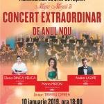 MAGIA MUZICII, 10 ianuarie,   ora 18.00, la Cinema Dacia, Piatra-Neamț