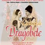"""""""CÂNTÂND DE DRAGOBETE"""", sâmbătă, 23 februarie 2019, ora 16:00"""