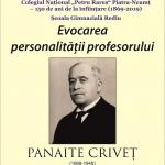 """Profesorul Panaite Criveț evocat la Biblioteca Județeană """"G.T. KIRILEANU"""""""
