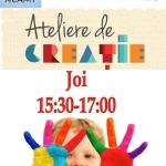 Ateliere de creație pentru copii