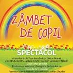 ZÂMBET DE COPIL – Spectacol de muzică şi dans, 2 IUNIE 2019