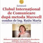 Lansarea Clubului de Comunicare la Biblioteca Județeană