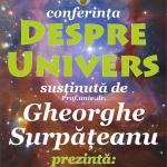 Conferință despre Univers, la Biblioteca Județeană, 11 iulie 2019