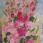 """Expoziția de pictură """"Bucurii de vară"""", la Biblioteca Județeană"""