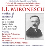Evocare I.I. Mironescu la Biblioteca Județeană