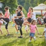 La Caiace te așteaptă cu sport la firul ierbii- Zumba, joi, 15 august 2019