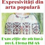 """""""Expresivități din arta populară"""" – la Biblioteca Județeană"""