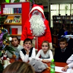Atelierele lui Moș Crăciun, la Biblioteca Județeană