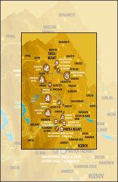 Vacanta in Neamt Traseul 01 – Harta mic