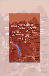 Vacanta in Neamt Traseul 02 – Harta mic