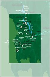 Vacanta in Neamt Traseul 04 – Harta mic