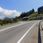 Poiana Largului - intersecția de drumuri