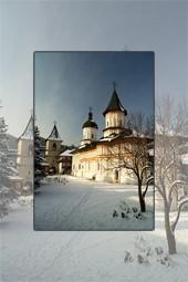 Iarna la Manastirea Secu