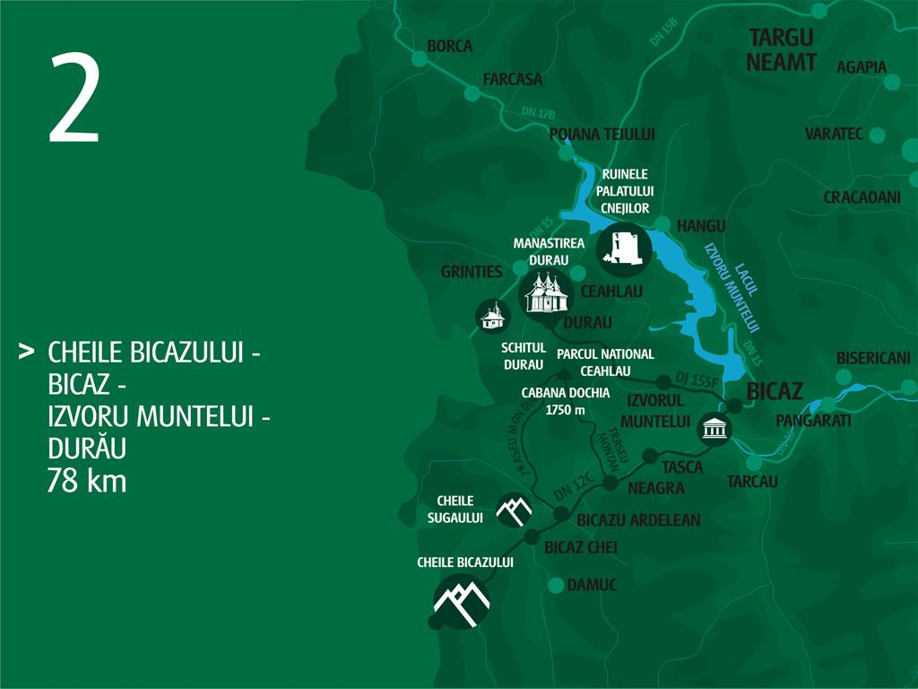 Turism Neamt Traseul Cheile Bicazului Bicaz Izvorul Muntelui