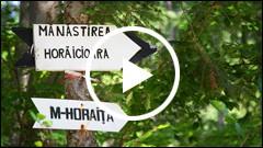 Cu bicicleta de la Manastirea Almas la Horaita