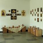 Expozitie de lucrari plastice intre cultura cucuteni si arta bizantina