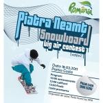 Piatra Neamţ Snowboard Big Air Contest, editia I – februarie 2011