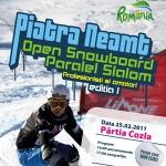 Concurs Open Snowboard Paralel Slalom – ediţia 1 Piatra Neamţ 2011