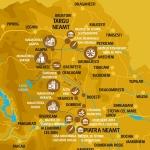 Vacanță în Neamț: Traseul I – Piatra Neamţ – Bălţăteşti – Târgu Neamţ