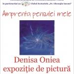 Expoziție de pictură Denisa Oniea, la Biblioteca Județeană