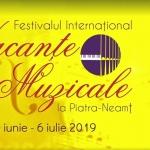 Vacanțe Muzicale la Neamț, 30 iunie- 6 iulie 2019