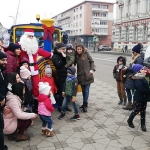 Moș Crăciun vine cu trenulețul la Piatra Neamț, Târgu Neamț și Bicaz