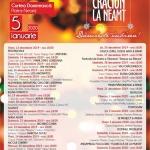 Serile de sărbătoare continuă la Târgul de Crăciun la Neamț