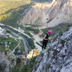 O experiență inedită, la înălțime și plină de adrenalină: Via ferrata ASTRAGALUS din Neamț