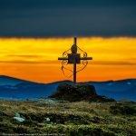 Apus şi răsărit de soare în Ceahlău