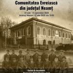 Comunitatea Evreiasca din Neamț – expoziție la Târgu Neamț