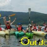 O nouă aventură pe lacul Izvorul Muntelui, o nouă experiență de vis!