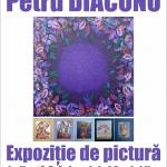 Expoziție de pictură dedicată sărbătorilor de iarnă, la Biblioteca Județeană
