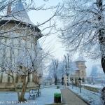 Început de iarnă la Piatra Neamţ – Curtea Domnească