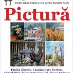 O nouă expoziție colectivă de pictură la Biblioteca Județeană
