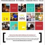 Noi înscrieri în proiectul Code Kids, la Biblioteca Județeană