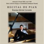 Recital de pian cu Kozma István Levente